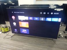 R39, 55'' TCL 4K TV, model 55C715K, to include box no. B116
