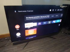 R22, 55'' TCL 4K TV, model 55C815K, to include box no. B100