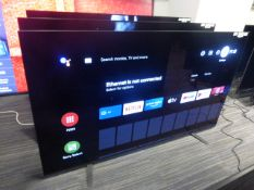 R57, 65'' Sony OLED 4K UHD TV, model KD-65A8, to include box no. B3
