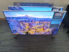 R54 - 58'' Samsung UHD 4K TV model: 58TU7110K to include box no. B130