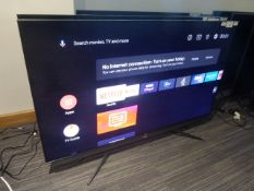 R17, 55'' TCL 4K TV, model 55C815K, to include box no. B95