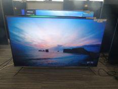 R50 - 50'' TCL 4K TV model no: 50C715K include box no: B126
