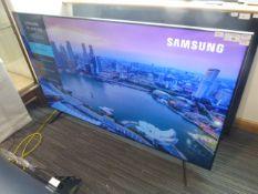 R121 & 122 - 75'' Samsung 4K UHD TV model no: UE75TU8000K include box no: B21