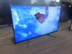 R45 - 43'' Sony 4K TV model no: KD-43XH8196 include box no: B112
