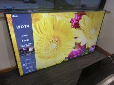 R119, 82'' LG 4K UHTV, model 82UN85006LA, this TV has no stand, to include box no. B17
