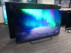 R65, 65'' TCL 4K TV, model 65EC788, to include box no. B11