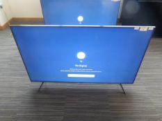 R51 - 58'' Samsung 4K UHD TV model: UE58TU7110K to inlucde box no. B127