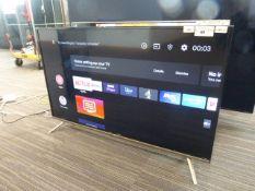 R1 - 43'' TCL 4K TV model no: 43EP658 includes box no: B80