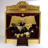 A Steiff limited edition Millennium Band set of five bears,