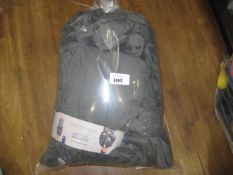 Bag containing Tommy Bahamas plush robes in grey