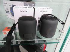 Sony SRS-XB12 bluetooth speakers