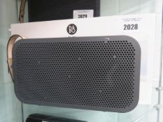 Bang & Olufsen Beoplay A2 Active portable speaker with box