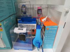 3 Kidizoom by VTech smart watches for kids with Motorola headset