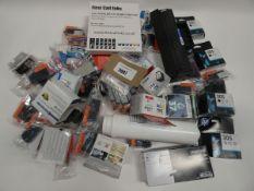 Bag containing quantity of printer ink cartridges