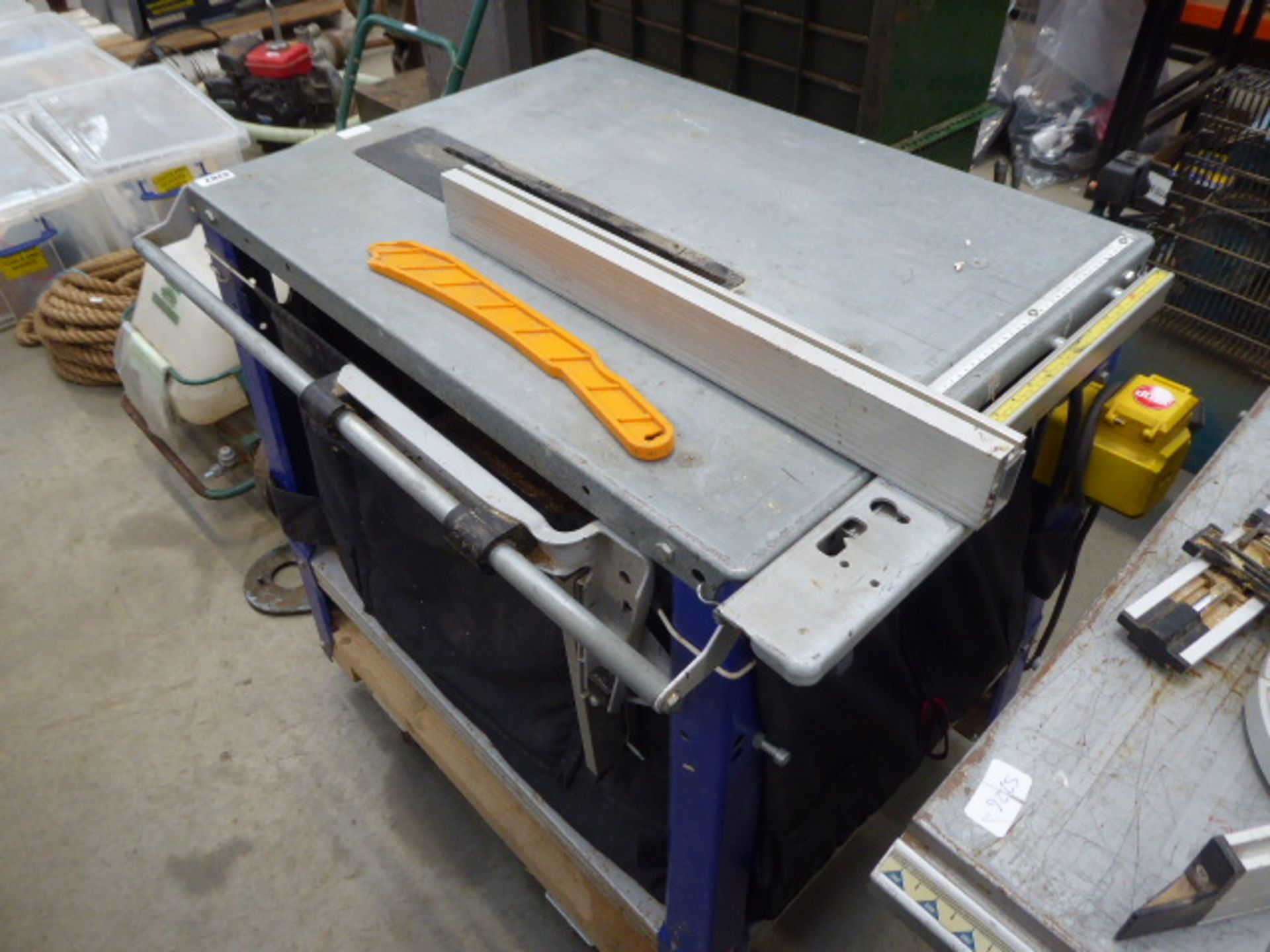 An Elektra Beckum THS315 table saw