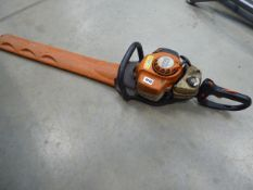 Stihl HS81R petrol powered hedge cutter