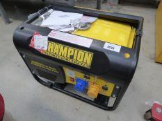 Champion 2800W petrol powered generator
