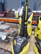 Karcher K7 Premium full control electric pressure washer with patio cleaning head, wash brush and