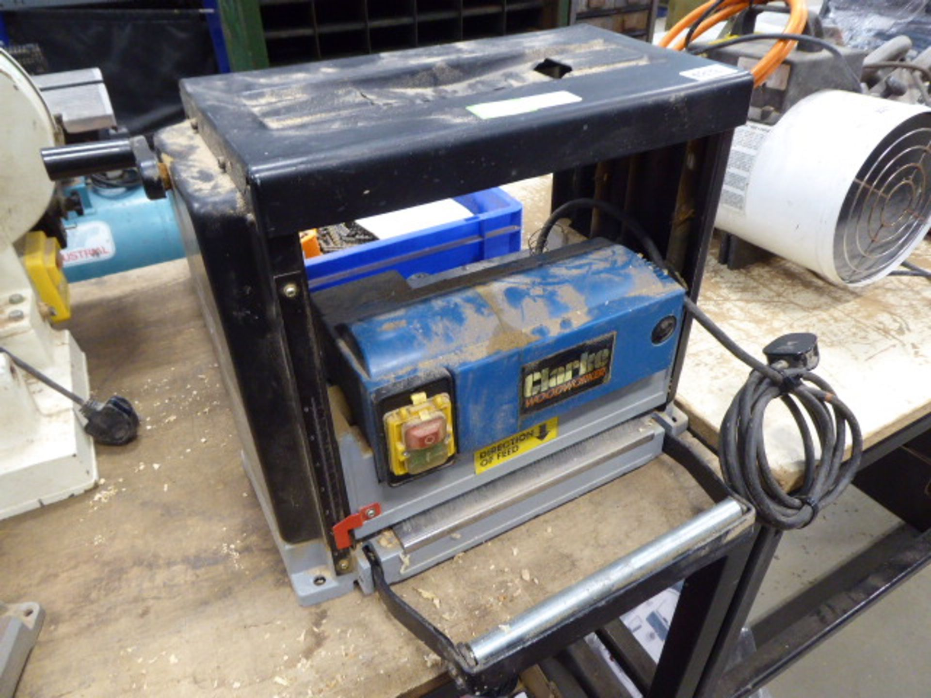 Clarke Woodworker single phase thicknesser
