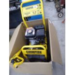 Champion boxed petrol powered pressure washer complete with lance and hose