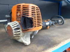 A Stihl petrol powered strimmer, (unit only)