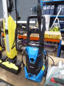 Toptech small blue electric pressure washer with lance