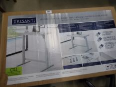Assembled Tresanti rise and fall desk