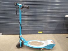 4034 - Turquoise Razor electric scooter
