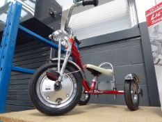 Unboxed Schwinn three wheel tricycle