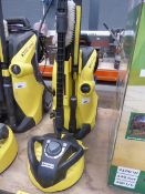 Karcher K4 Premium full control electric pressure washer with patio cleaning head, wash brush and