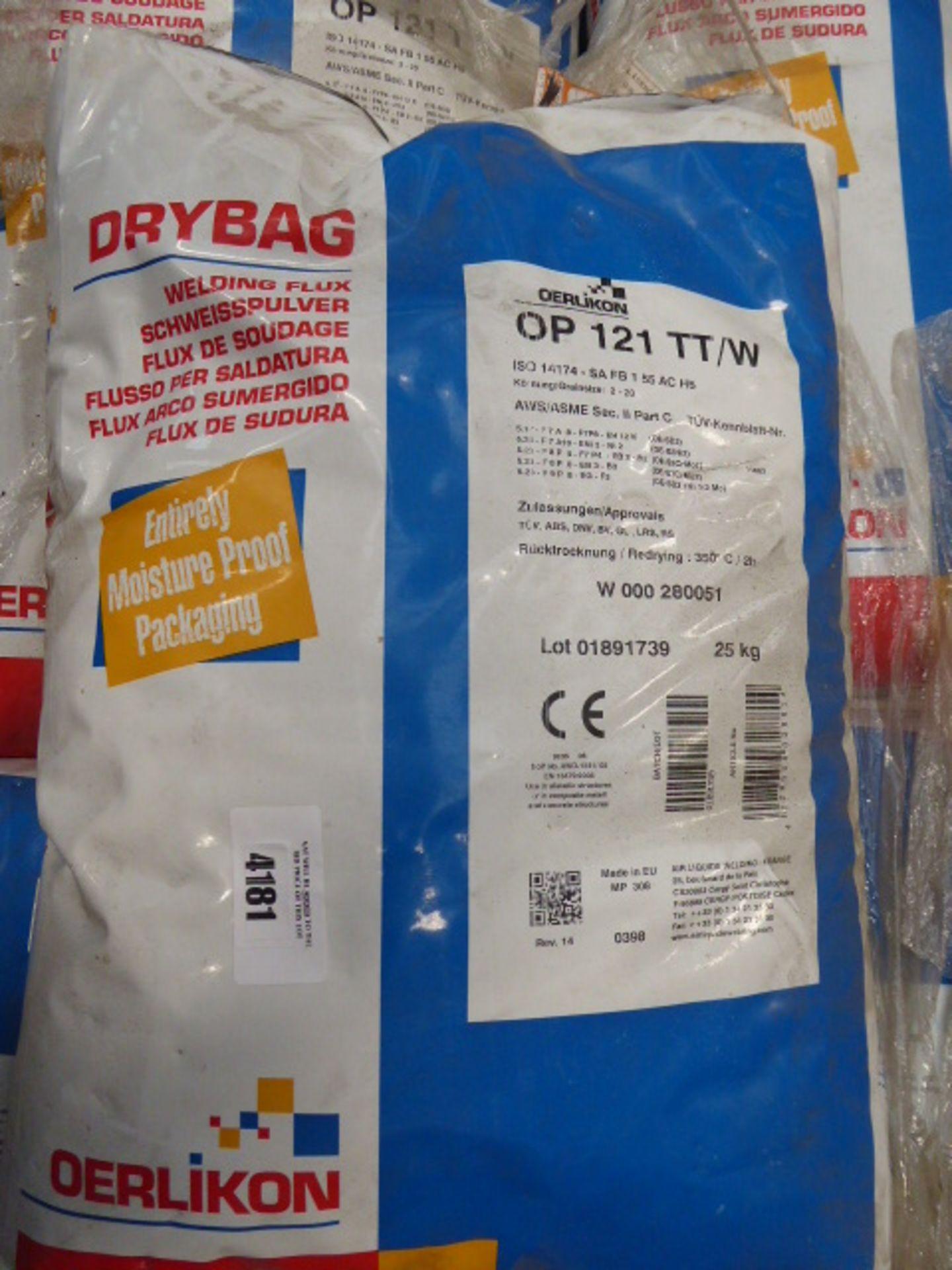 A pallet of Dry Bag welding flux - Image 2 of 2
