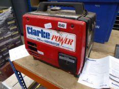 Clarke Power 700w mini generator