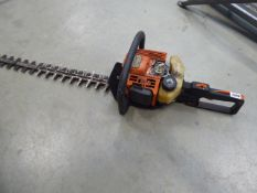 Stihl petrol powered hedge cutter