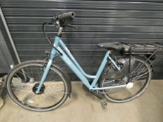 Vitesse Pulse blue electric ladies bike, no charger