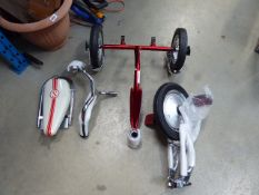 Unboxed Schwinn trike (parts)