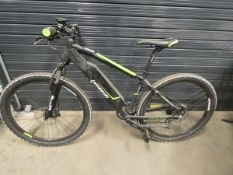 Lombardo Evolution gents green and black electric mountain bike with battery, no charger