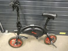 Jetson Bolt electric bike with charger and box