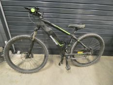 Lombardo Evolution green and black gents electric mountain bike with battery and charger