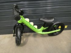 4026 Boxed RoyalBaby green balance bike
