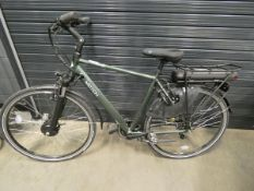 Gents green Vitesse Motion electric bike, no charger