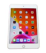 iPad Mini 64GB Gold tablet with box (A2133 2019)