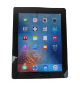 iPad 16GB Black tablet with box and charger (A1416 2012)