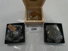3x pocketwatches
