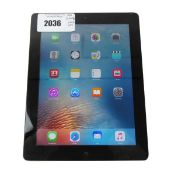 iPad 64GB Silver tablet (A1416)