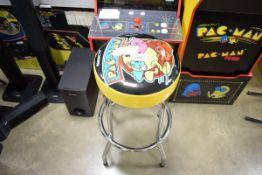 Pac-Man gamers' stool