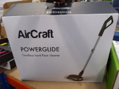 Boxed Aircraft Power Glide cordless hard floor cleaner