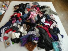 Half a stillage of mixed children's clothing ages 3 up