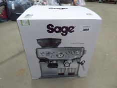 (TN15) Boxed Sage Barista Express coffee machine
