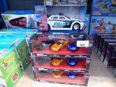 3 Fast & Furious car sets plus 3 Mighty Fleet car sets