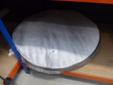 Large circular dog bed